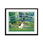 Bridge / Rat Terrier Framed Panel Print