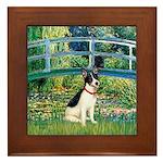 Bridge / Rat Terrier Framed Tile