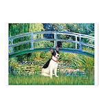 Bridge / Rat Terrier Postcards (Package of 8)