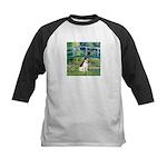 Bridge / Rat Terrier Kids Baseball Jersey