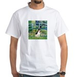 Bridge / Rat Terrier White T-Shirt