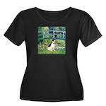 Bridge / Rat Terrier Women's Plus Size Scoop Neck