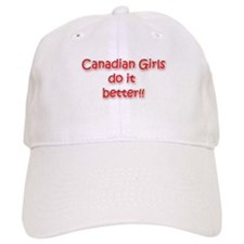 Cute Funny canadian Baseball Cap