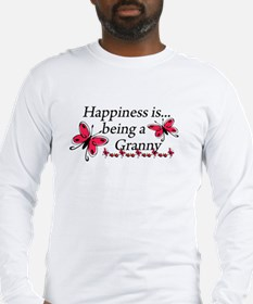 Butterfly Being A Granny Long Sleeve T-Shirt