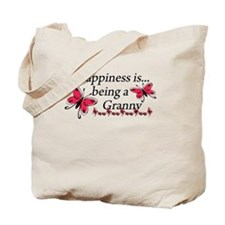 Butterfly Being A Granny Tote Bag