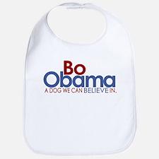 Bo Obama Believe Bib