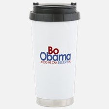 Bo Obama Believe Travel Mug