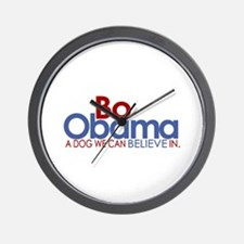 Bo Obama Believe Wall Clock