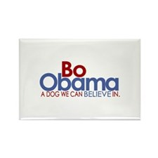 Bo Obama Believe Rectangle Magnet (100 pack)