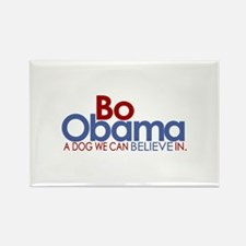 Bo Obama Believe Rectangle Magnet (100 pack)
