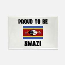 Proud To Be SWAZI Rectangle Magnet