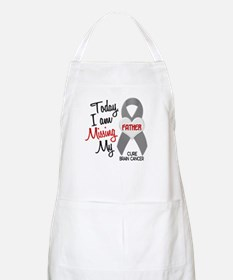 Missing 1 Father BRAIN CANCER BBQ Apron