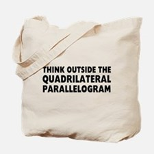 Think Outside Tote Bag