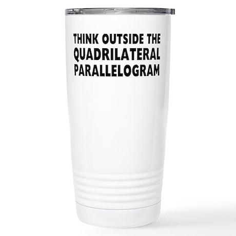 Think Outside Stainless Steel Travel Mug