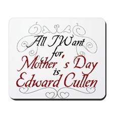 Mother's Day Edward Mousepad