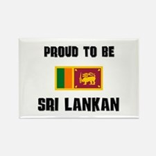 Proud To Be SRI LANKAN Rectangle Magnet