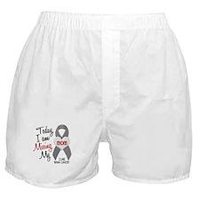 Missing 1 Mom BRAIN CANCER Boxer Shorts