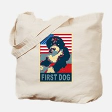 First Dog BO Obama Tote Bag
