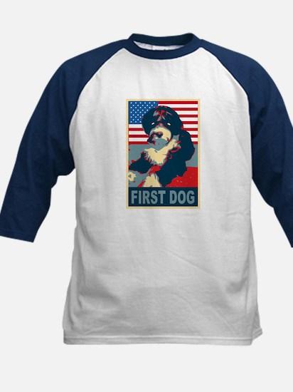 First Dog BO Obama Kids Baseball Jersey