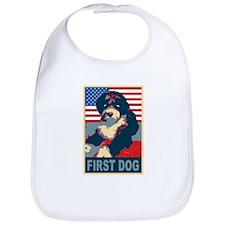 First Dog BO Obama Bib