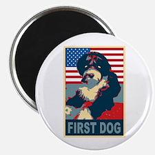 First Dog BO Obama Magnet