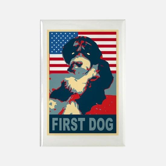 First Dog BO Obama Rectangle Magnet (10 pack)
