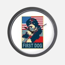 First Dog BO Obama Wall Clock