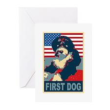 First Dog BO Obama Greeting Cards (Pk of 10)