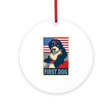 First Dog BO Obama Ornament (Round)