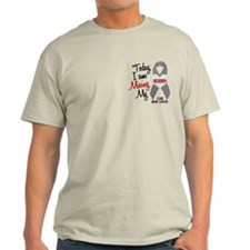 Missing 1 Mommy BRAIN CANCER T-Shirt