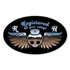 Molly Chrome, RN Decal
