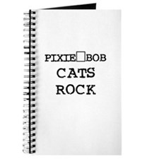 PIXIE-BOB CATS ROCK Journal