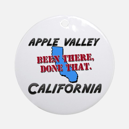 apple valley california - been there, done that Or