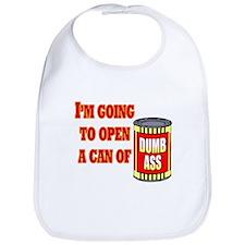 Can of Dumb Ass Bib