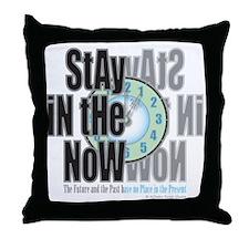 Now Throw Pillow