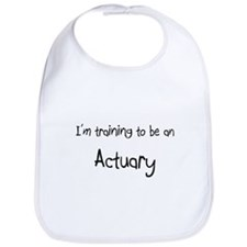 I'm Training To Be An Actuary Bib