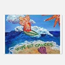 Wipe Out Cancer Angel Postcards (Package of 8)