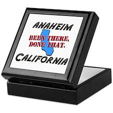 anaheim california - been there, done that Keepsak