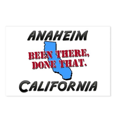anaheim california - been there, done that Postcar