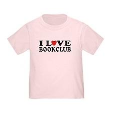I Love Book Club T
