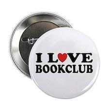 """I Love Book Club 2.25"""" Button (100 pack)"""