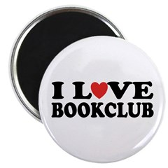I Love Book Club Magnet