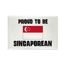 Proud To Be SINGAPOREAN Rectangle Magnet