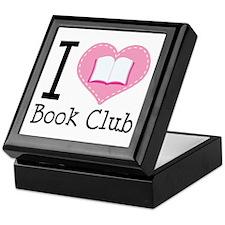 I Heart Book Club Keepsake Box