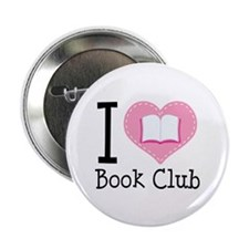 "I Heart Book Club 2.25"" Button (10 pack)"