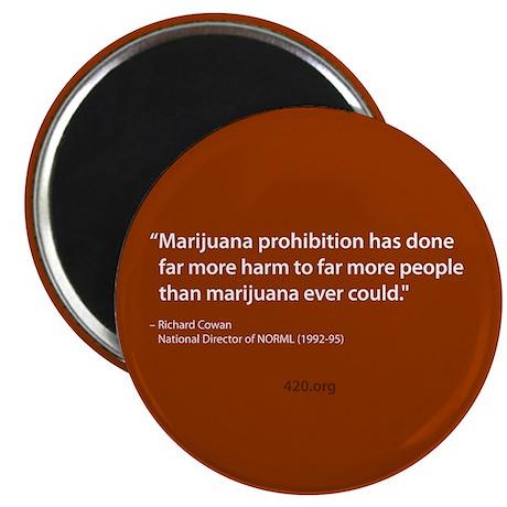 Marijuana Prohibition Magnet