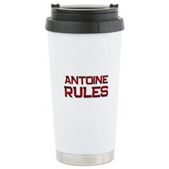 antoine rules Travel Mug