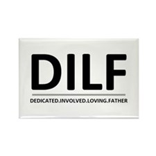 """""""Dedicated Involved Loving Father""""Magnet"""