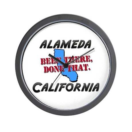 alameda california - been there, done that Wall Cl