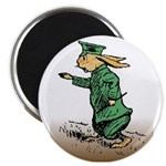 "Orange Forest Rabbit 2.25"" Magnet (10 pack)"